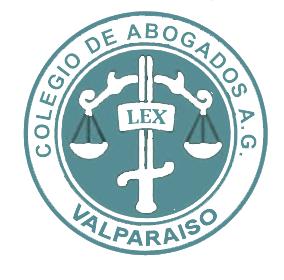 logo colegio de abogados de valparaiso