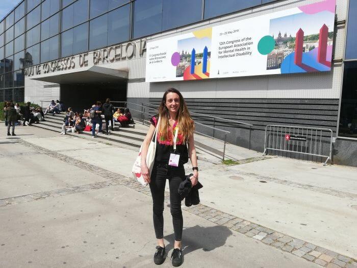 Paulina Varas, académica UNAB en pasantía de salud mental en España